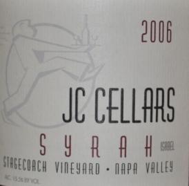 2006 JC Cellars Stagecoach Vineyard Syrah