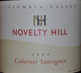 2009 Novelty Hill Columbia Valley Cabernet Sauvignon