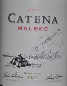 2011 Catena Mendoza Malbec
