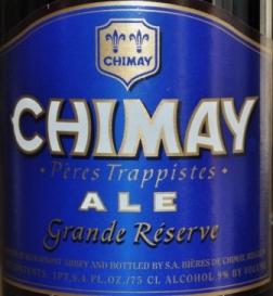 Beer Review: Chimay Ale Grande Reserve Blue
