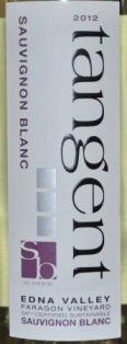 2012 Tangent Sauvignon Blanc Paragon Vineyard