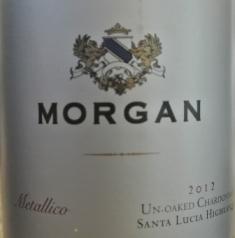2012 Morgan Metallico Chardonnay