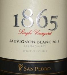 2013 Vina San Pedro 1865 Single Vineyard Sauvignon Blanc