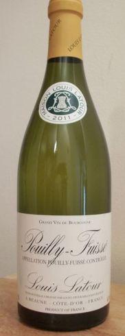 2011 Louis Latour Pouilly Fuisse Chardonnay