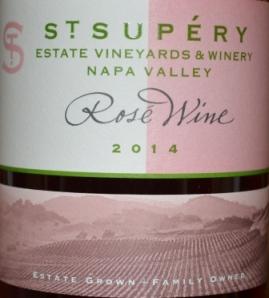 2014 St Supery Estate Napa Rosé