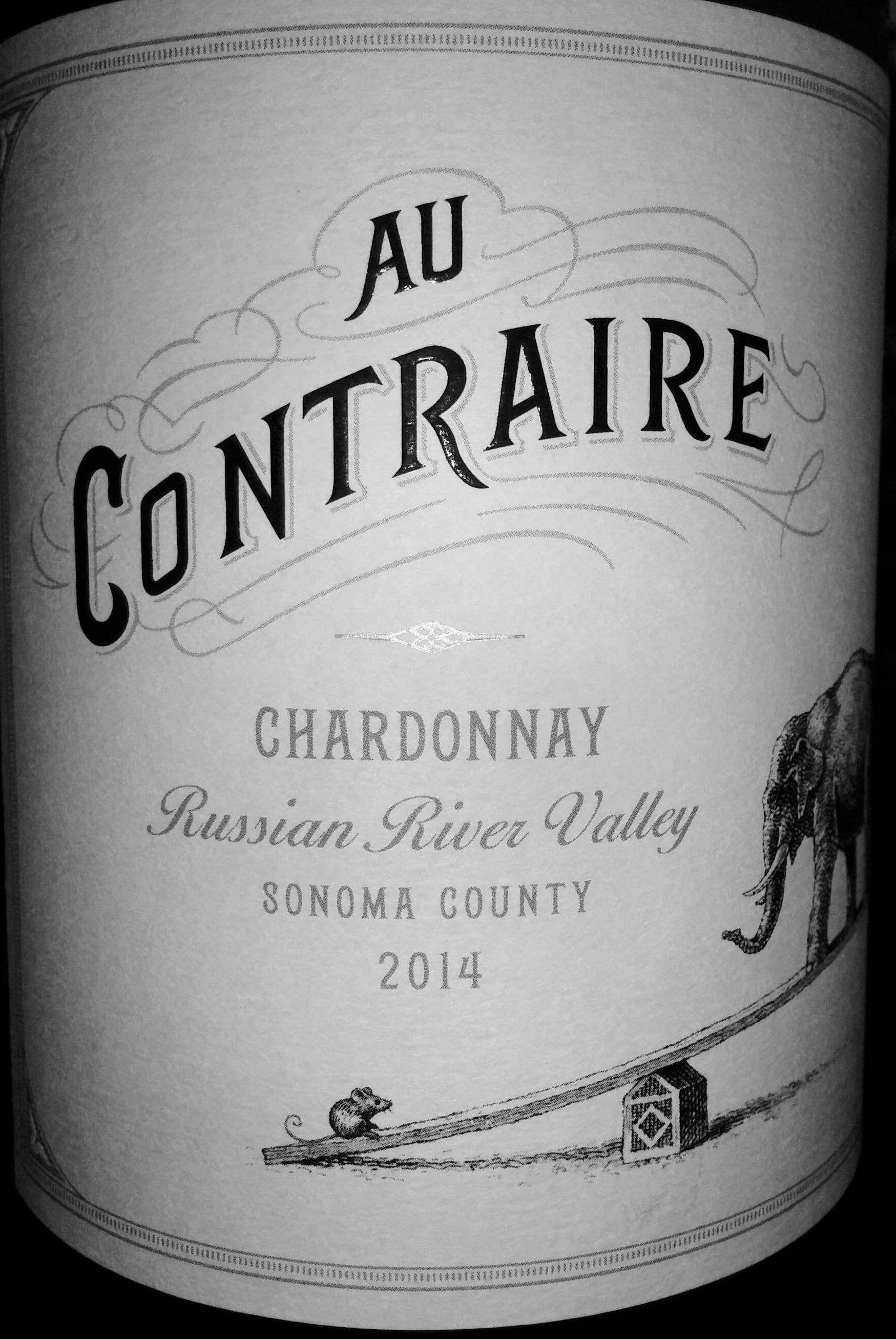 2014 Au Contraire Russian River Chardonnay