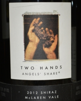 2012 Two Hands Angels' Share Shiraz
