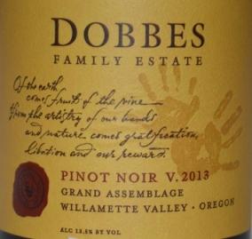 2013 Dobbes Family Estate Grand Assemblage Pinot Noir