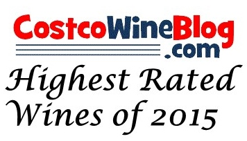 CostcoWineBlog.com's Highest Rated Wines of 2015