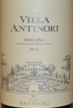 2012 Villa Antinori Toscana