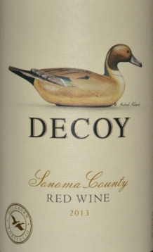 2013 Decoy Sonoma County Red Wine