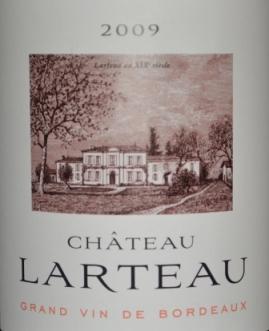 2009 Chateau Larteau Bordeaux Superieur