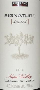 2013 Kirkland Signature Series Napa Valley Cabernet Sauvignon