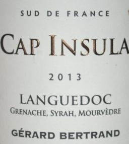 2013 Gerard Bertrand Cap Insula Languedoc GSM