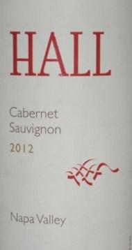 2012 Hall Cabernet