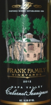 Frank Family Cabernet