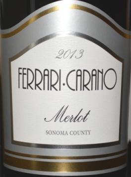 2013 Ferrari-Carano Merlot