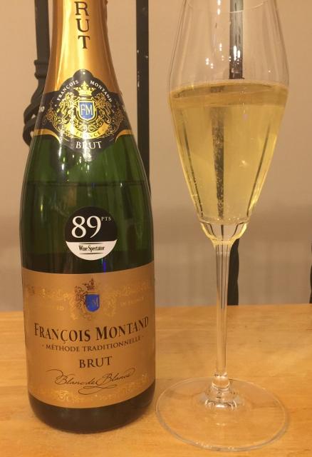 """NV Francois Montand """"Méthode Traditionnelle"""" Brut Sparkling Wine"""
