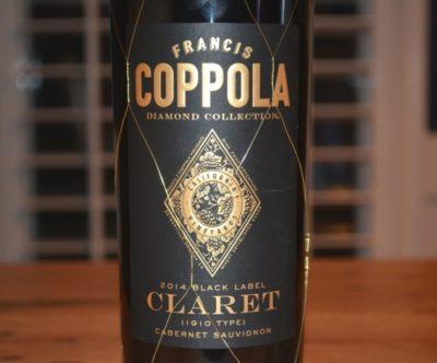 2014 Francis Coppola Black Label Diamond Collection Claret