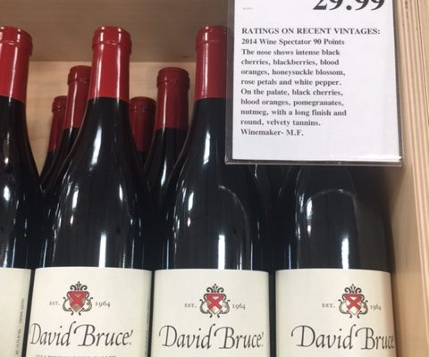 2014 David Bruce Pinot Noir Russian River Valley