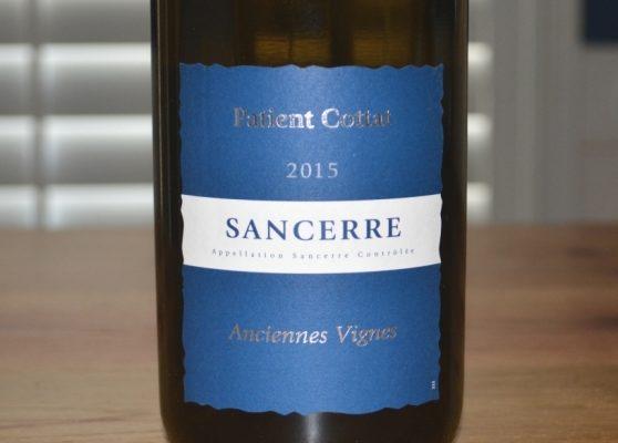 2015 Patient Cottat Sancerre Anciennes Vignes