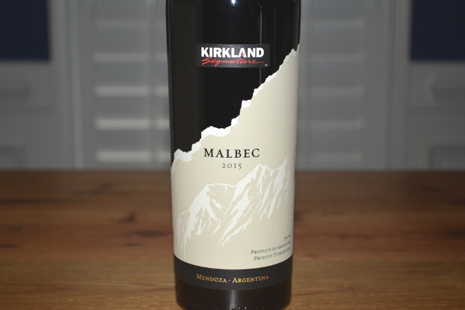 2015 Kirkland Signature Mendoza Malbec