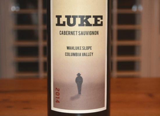 2014 Luke Cabernet Sauvignon Wahluke Slope Columbia Valley
