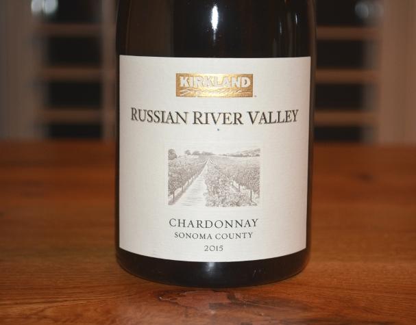2015 Kirkland Signature Russian River Chardonnay