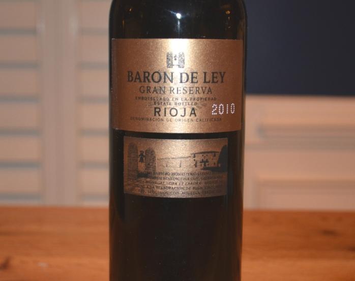 2010 Baron de Ley Gran Reserva Rioja