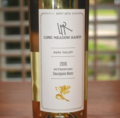2016 Long Meadow Ranch Rutherford Sauvignon Blanc