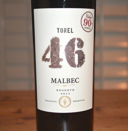 2014 Bodega Los Toneles Tonel 46 Reserva Malbec