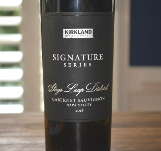2016 Kirkland Signature Stags Leap District Cabernet Sauvignon