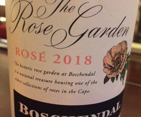 2018 Boschendal The Rose Garden Rose