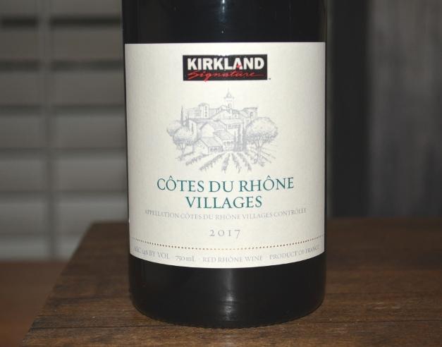 2017 Kirkland Signature Cotes du Rhone Villages