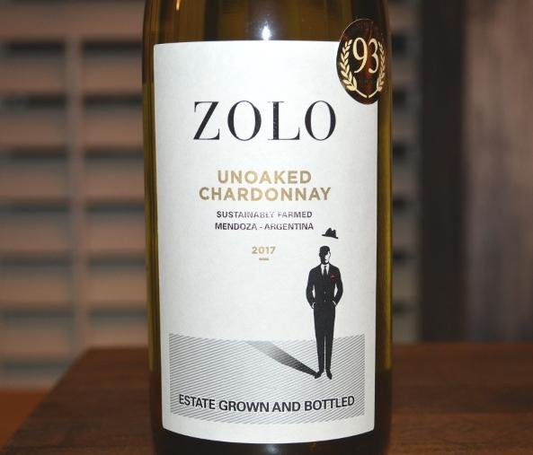 2017 Zolo Chardonnay Unoaked
