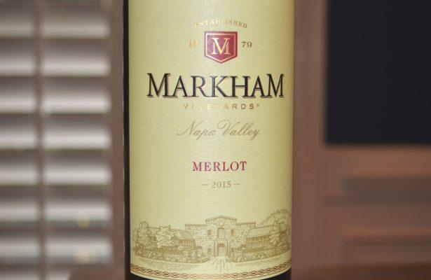 2015 Markham Merlot Napa Valley