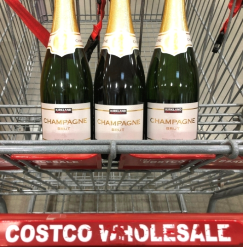 The Best Bubbly Wines At Costco for New Year's – Plus How To Easily Saber Champagne Bottles