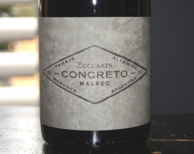 2017 Zuccardi Concreto Malbec