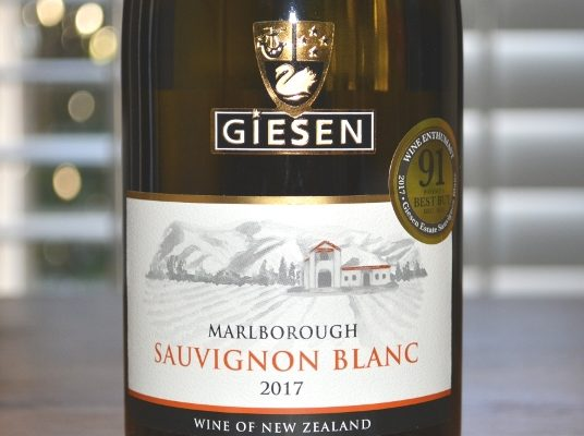 2017 Giesen Marlborough Sauvignon Blanc
