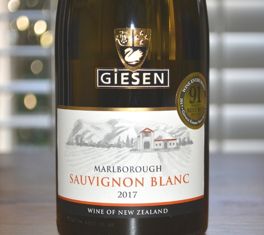 2017 Giesen Marlborough Sauvignon Blanc