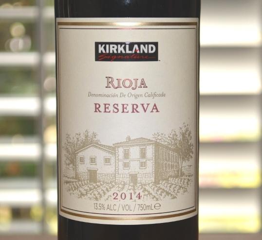 2014 Kirkland Signature Rioja Reserva