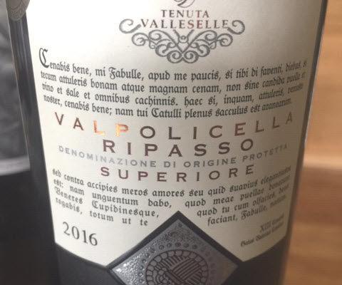 Tenuta Valleselle Valpolicella Ripasso Superiore
