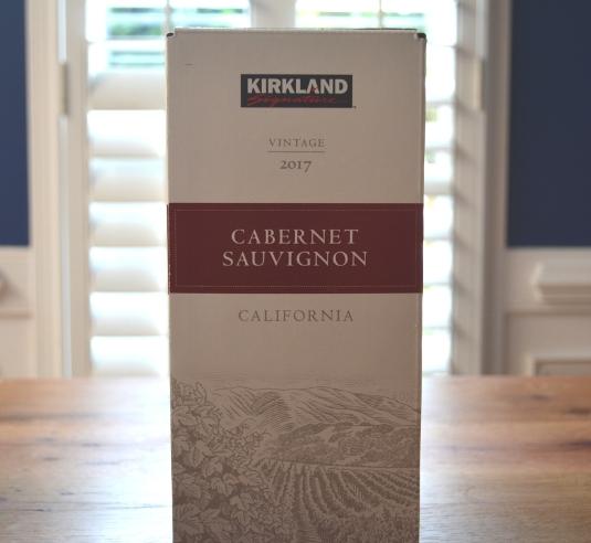 2017 Kirkland Signature Boxed California Cabernet Sauvignon