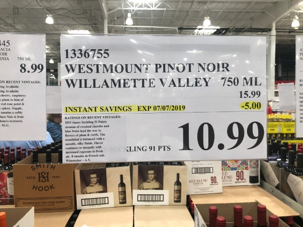 2015 Westmount Willamette Valley Pinot Noir