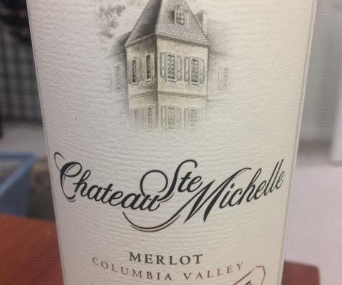 2016 Chateau Ste. Michelle Indian Wells Merlot