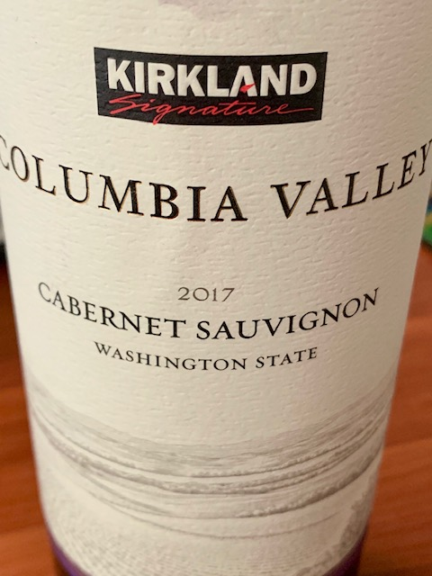 2017 Kirkland Signature Columbia Valley Cabernet