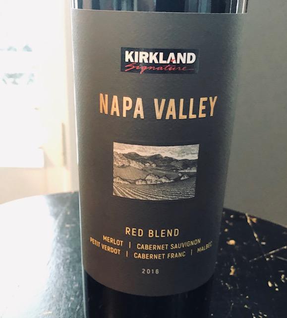 2016 Kirkland Signature Napa Valley Red Blend