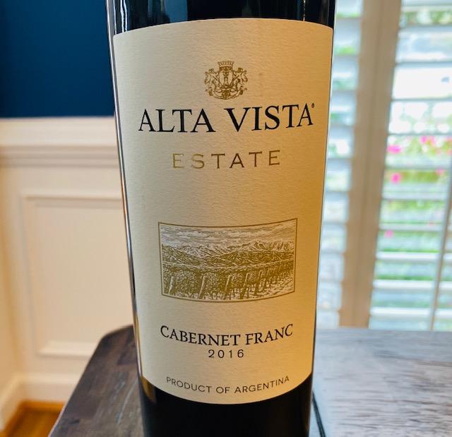 2016 Alta Vista Estate Cabernet Franc