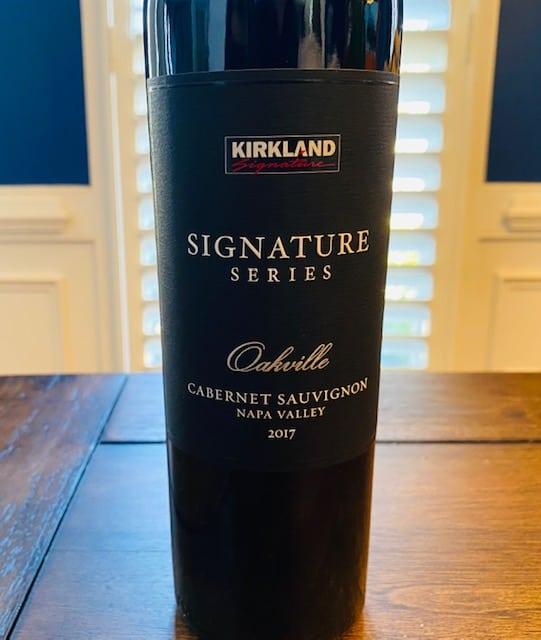 2017 Kirkland Signature Oakville Cabernet Sauvignon