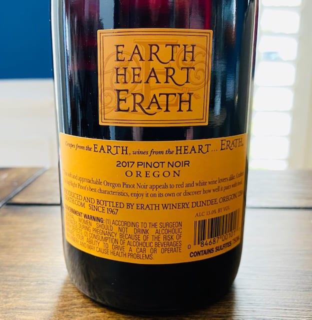 Erath Pinot Noir
